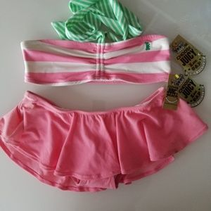 Vintage 👑Juicy Couture👑Skirted Terry Bikini L/XL